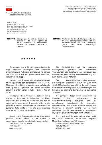 (Obbligo di raccolta dei rifiuti organici - DITTE - sett 06\205)