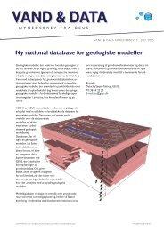 Vand & data Nyhedsbrev 5, juli 2005 - Geus