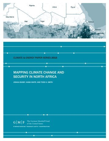 mapping climate change and security in north africa - German ...