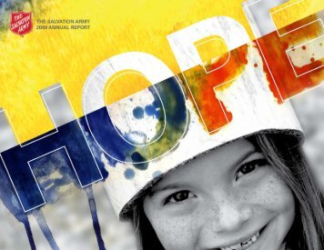 2009 Annual Report - Salvation Army Omaha