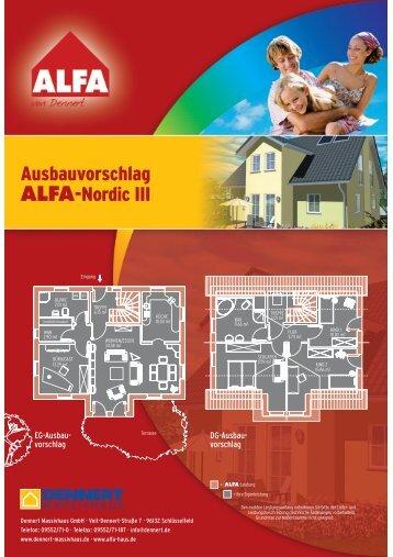 Ausbauvorschlag ALFA-Nordic III - GIF-Immobilien