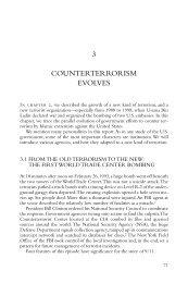 Counterterrorism Evolves