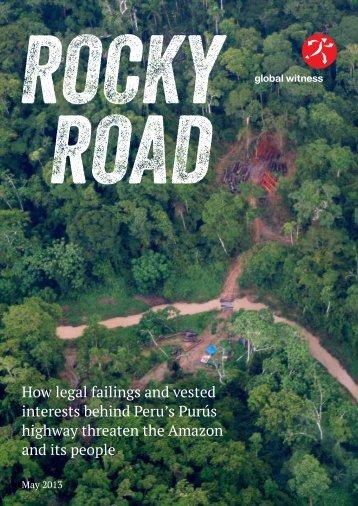Rocky Road - Global Witness