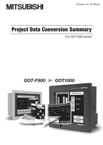 Project Data Conversion Summary (For GOT1000 ... - Omni Ray AG