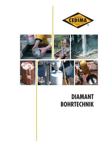 DIAMANT BOHRTECHNIK - CEDIMA GmbH