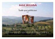 La rivista indipendente sul vino e sull'olio italiano per gli ... - Merum