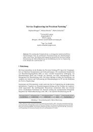 Service Engineering im Precision Farming - Die GIL