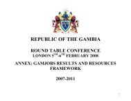 8. Gamjobs annex - UNDP The Gambia