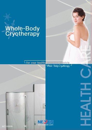 Whole-Body Cryotherapy - Gobizkorea