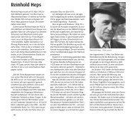 Reinhold Heps - Geschichtswerkstatt Mülheim