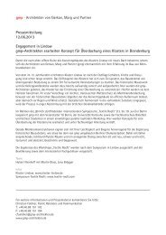 Pressemitteilung 12.06.2013 Engagement in Lindow gmp ...