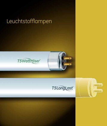 Leuchtstofflampen (Spectrum) - Katalog (DE) - GE Lighting