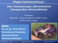 Pfluglose Bodenbearbeitung - Ziele ... - bei der GKB eV