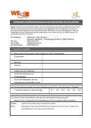 Fragebogen zur Breitbandversorgung von ... - Westerkappeln