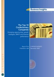 The Top 10 Confectionery Companies - Business Insights