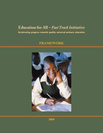 Framework - Global Partnership for Education
