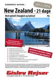 New Zealand - Gislev Rejser