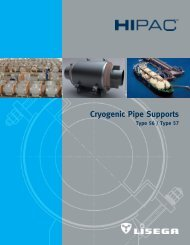 Cryogenic Pipe Supports