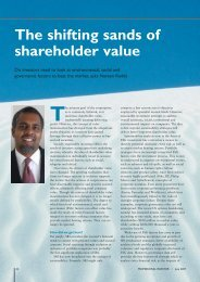 The shifting sands of shareholder value - GMI Ratings