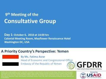 Yemen - GFDRR