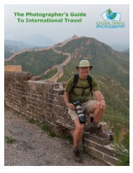 The Photographers Guide to International Travel - Global Travel ...