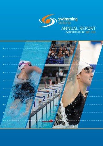 Annual Report 2009/10 - Swimming Victoria