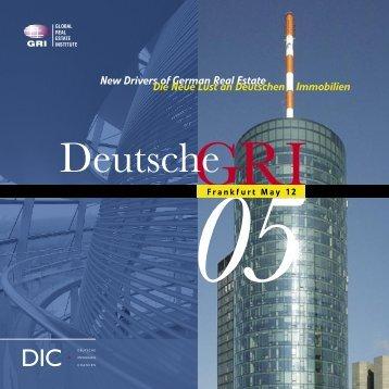 Deutsche - Global Real Estate Institute