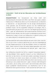 weiterlesen - (GdP) - Kreisgruppe Recklinghausen