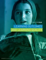 Learning outcomes and Learning quaLity - Global Partnership for ...