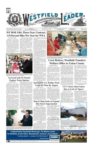10mar11 newspaper - The Westfield Leader