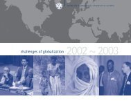 CFGS annual 03 - Centre for Global Studies