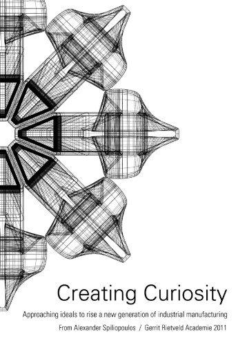 Creating Curiosity - Gerrit Rietveld Academie