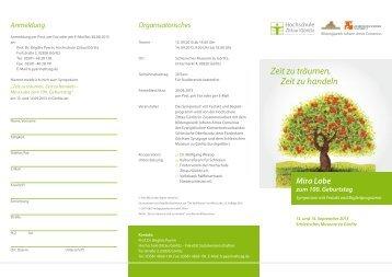 Programm des Symposiums hier zum Download ... - Görlitz Tourismus