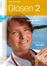 Glosen 2 - Glostrup Hospital