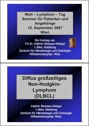 Diffus großzelliges Non-Hodgkin- Lymphom (DLBCL)