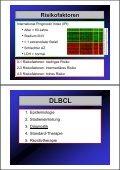 Diffus großzelliges Non-Hodgkin- Lymphom (DLBCL) - Seite 6