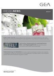 Newsletter MAI 2011 - GEA Diessel GmbH