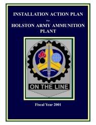 Holston AAP Installation Action Plan - GlobalSecurity.org