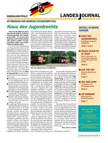 Journal August 2004 - gdp-deutschepolizei.de
