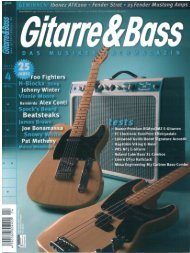 Page 1 Page 2 ] [in-i GUITAR SYSTEM CONTROLLER GSC-5 ...