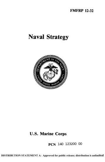 FMFRP 12-32 Naval Strategy - GlobalSecurity.org