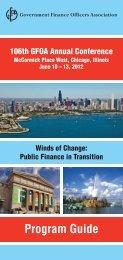 Program Guide - Government Finance Officers Association