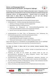 Genuss- und Bewegungsentdecker - Netzwerk Gesunde Gemeinde