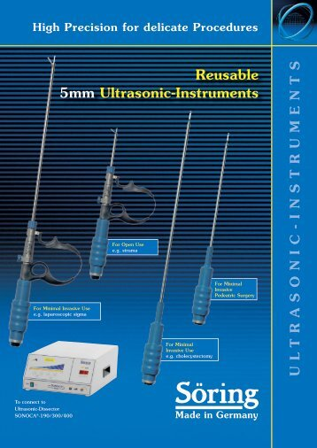 Reusable 5mm Ultrasonic-Instruments