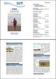 Detailprogramm der Reise downloaden - GEO Reisen
