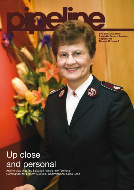 August 2008 - The Salvation Army