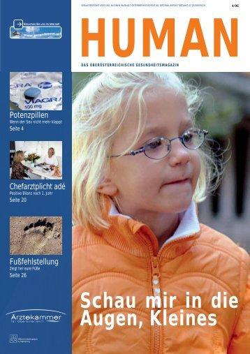 HUMAN Ausgabe 04/2006 - gesund-in-ooe.at
