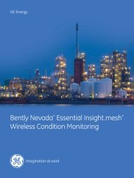 Bently Nevada* Essential Insight.mesh* Wireless Condition Monitoring