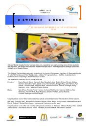 Issue 02 - Swimming Queensland - Swimming Australia