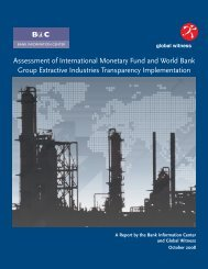 Assessment of International Monetary Fund and World Bank Group ...